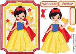 Beautiful Snow White Princess ,