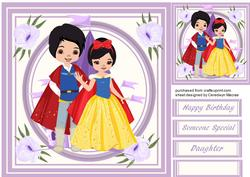 Lovely Princess and Prince ,