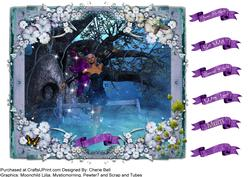 Fairy in the Woods All Occasion Topper