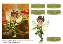 Steampunk Fairy Scene