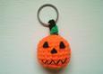 Pumpkin Keyring