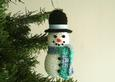 Snowman Hanging Ornament