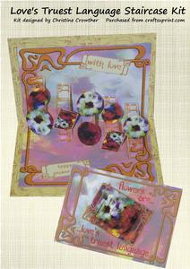 Loves Truest Language Staircase Card Kit