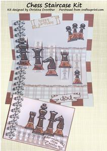 Chess Staircase Card Kit