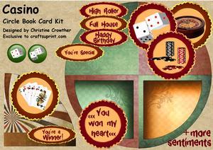 Casino Circle Book Card Kit