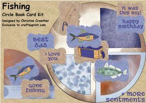 Fishing Circle Book Card Kit
