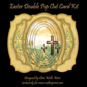 Easter Double Pop Out Card