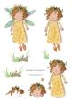 Little Yellow Fairy Step by Step