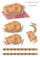 Cat Curled in Basket