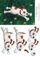 Run Dog! Step by Step Decoupage Sheet