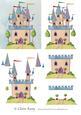 Princess Castle Step by Step Decoupage Craft Sheet