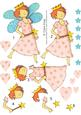 Pretty Pink Fairy Step by Step Decoupage Sheet