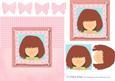 Pretty Pink Quick Female Decoupage Card