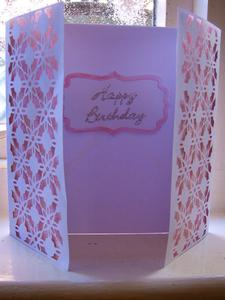 Decorative Panels Gatefold Card 1