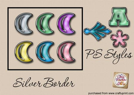 Silver Border Ps Style