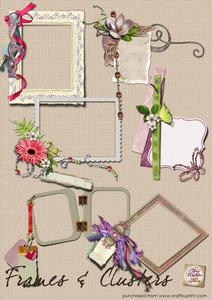 Frames and Clusters