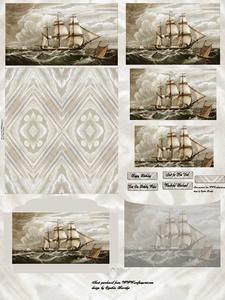 Sailing Dl Easel Kit