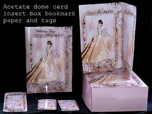 Wedding Day Acetate Dome Kit