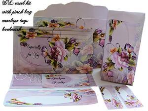 Dl Easel English Roses Kit