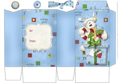 Christmas Gift Bag - Polarbear