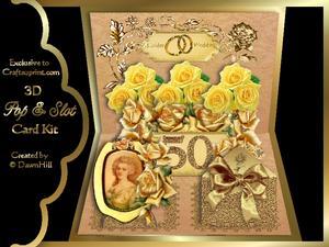 Pop & Slot - Golden Rose Award - 50th Wedding