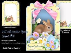 3D Accordian Spring - Easter Celebrations