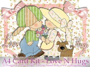 Love N Hugs - Card Kit