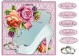 Wedding Card Mini Kit - Pink