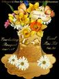 Everlasting Bouquet Easel - Daffodils