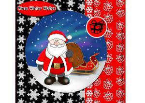 Xmas Santa Card Kit