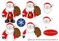 Xmas Santa Decoupage Sheet