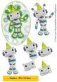 Little Boy Birthday-quick Decoupage Sheet-robot