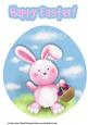 Easter Bunny A4 Card Topper