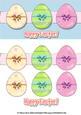Easter Egg Dl Decoupage Sheet