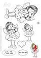 Poppy the Fairy Digital Stamp-lovehearts