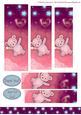 Star Teddy Pyramid Sheet-pink