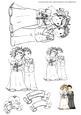 Cute Couple Wedding Digital Stamp
