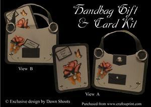 Handbag Gift and Card Kit