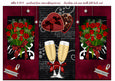 Chocolates and Roses Double Fold Back Card