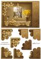 Golden Love Quadro Petal Corner Stacker