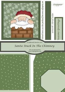 Santa Stuck in the Chimney Kit