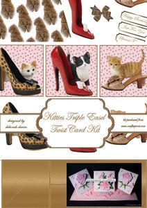 Kitties Triple Easel Twist Card Kit