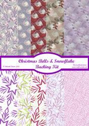Christmas Bells & Snowflake Vellum Sheet Kit