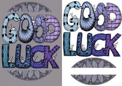 Doodled Good Luck