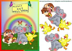 Child's Get Well Wishes