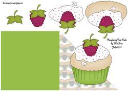 Raspberry Cup Cake
