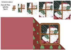 Santa's at the Window