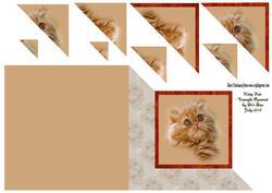 Kitty Kat Triangle Stacker