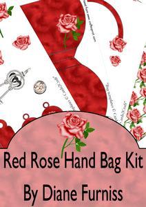 Red Rose Handbag Kit