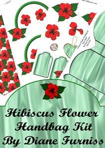 Hibiscus Flower Handbag Kit